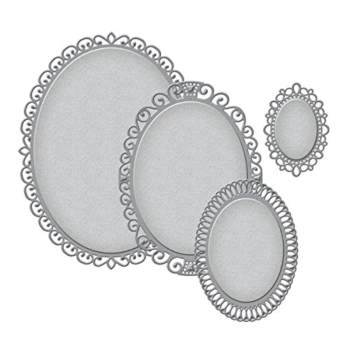 Nestabilities Elegant Ovals Etched/Wafer Thin Dies ()