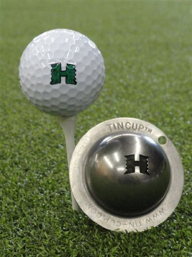 Tin Cup University of Hawaii Manoa Golf Ball Marking Stencil, Steel by Tin Cup by Tin Cup