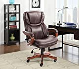 Serta 43506A Executive Chair Office, Biscut