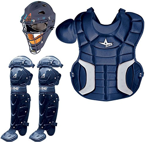 All-Star CK79PS Player's Series Catcher's Kit - Navy