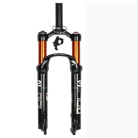 UD-strap Horquilla De Aire RLC (Doble Aire) 27,5 Pulgadas Suspensión Montaña Tenedor Bicicleta MTB Tenedor Smart Lock out Amortiguación Ajustar 100mm Travel Negro ...