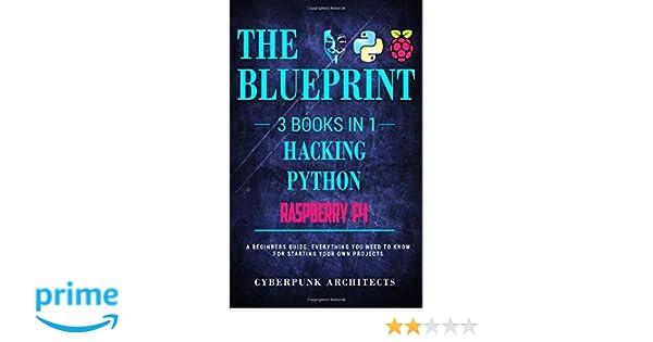 Amazon the blueprint hacking raspberry pi 3 python 3 amazon the blueprint hacking raspberry pi 3 python 3 books in 1 the blueprint everything you need to know cyberpunk blueprint series volume malvernweather Choice Image