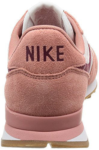 NIKE Sneakers Top Internationalist Stardust Red Noble Women's Medium Red silt gum Red Low Red IwZZrqt