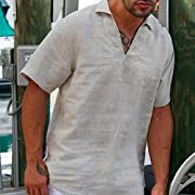 El jefe V neck men's shirt