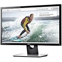 Dell 9DRWM SE2416H 24-inch LED Monitor - 1920 x 1080 - 8,000,000:1 - 6 ms - VGA, HDMI - Glossy Piano Black (Certified Refurbished)