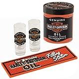 Harley-Davidson Genuine Oil Can Shot Glass Set