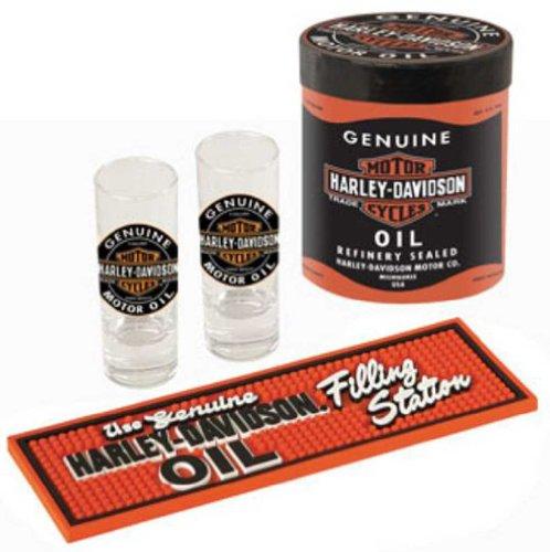 Harley-Davidson Genuine Oil Can Shot Glass Set ()