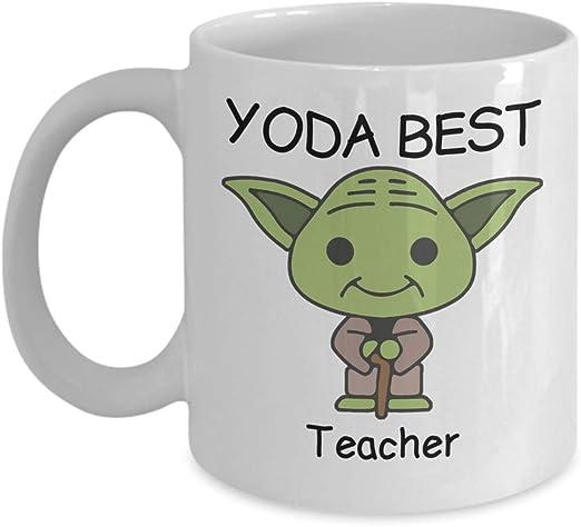 Worlds Best YOGA TEACHER Gift Mug Heart Love Family Work Christmas Birthday