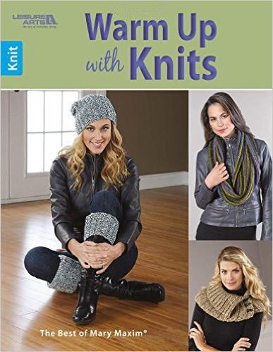 Leisure Arts Warm Up with Knits Pattern Book by Energi8_mar