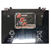 AGM Brand Or Similar Replacement For YTX24HL-BS Battery For Bombardier Ski-Doo All Models 1998 Sealed Maintenace Free 12V Battery High Performance SMF OEM Maintenance Free Powersport Motorcycle ATV Scooter Snowmobile Watercraft KMG -Fast Shipping