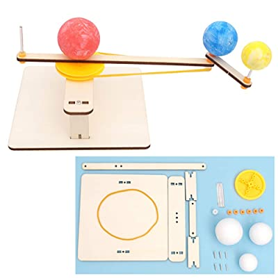 N2 jikaixiang Brain Toys Hands-on Ability Thinking Activity DIY Earth Moon Sun Planetarium Geography Experiment Education Kids Toy: Home & Kitchen
