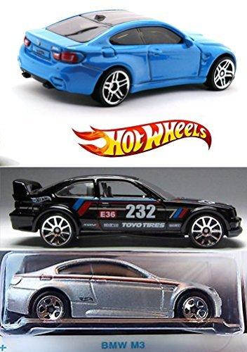 Hot Wheels BMW Exclusive 2016 Car model M3 BMW 2010 + E36 Se