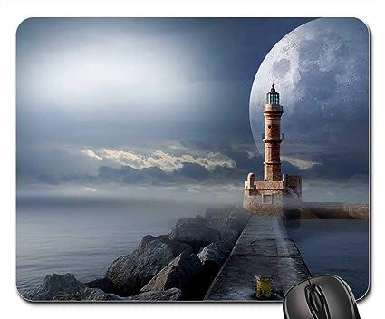 Amazoncom Mouse Pads Signal Lighthouse Quay Wall