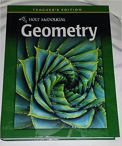 Pdf holt mcdougal geometry, teacher's edition (common core edition) f….