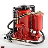 ATE Pro. USA 90344 20 Ton Air /Hydraulic Bottle Jack, 12.6