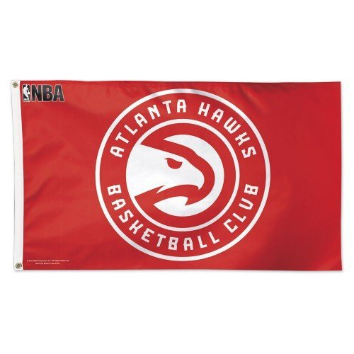 - Atlanta Hawks Official NBA 3ftx5ft Banner Flag by Wincraft