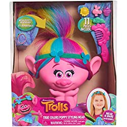 Trolls Just Play Poppy True Colors Styling Head