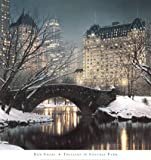 Twilight in Central Park Photography Art Poster Print by Rod Chase, 30x32