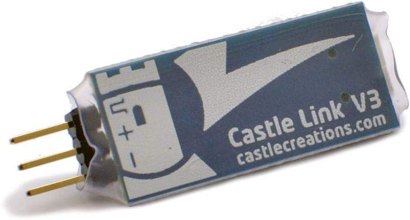 Castle Creations Castle Link USB Programmation Adaptateur Kit Version 3 #011-0119-00