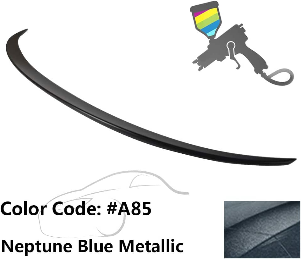 2012 2013 2014 2015 Pre-Painted Trunk Spoiler Compatible With 2011-2016 BMW 5 Series F10 M5 Style #A52 Space Gray Metallic ABS Rear Wing by IKON MOTORSPORTS