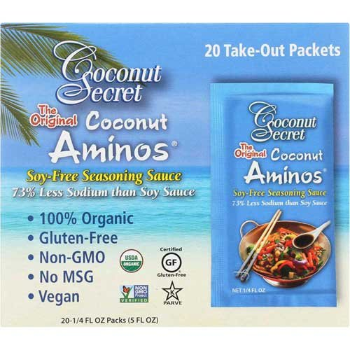 The 1 best coconut aminos takeout packets