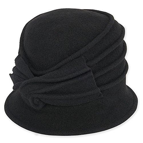ad497-soft-wool-cloche-with-self-bow-trim-black