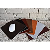 Custom Leather Mousepad. Perfect Gift For Weddings, Anniversaries, Birthdays, And Special Occasions. Monogrammed Mousepad. Personalized Mousepad. Add Your Initials.