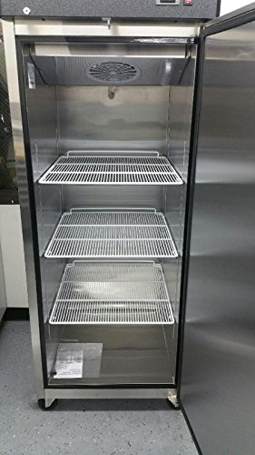 29'' Upright Stainless Steel 1 Door Commercial Freezer, 22.6 Cubic Feet, MBF-8001, for Restaurant by MBF-8001 (Image #1)