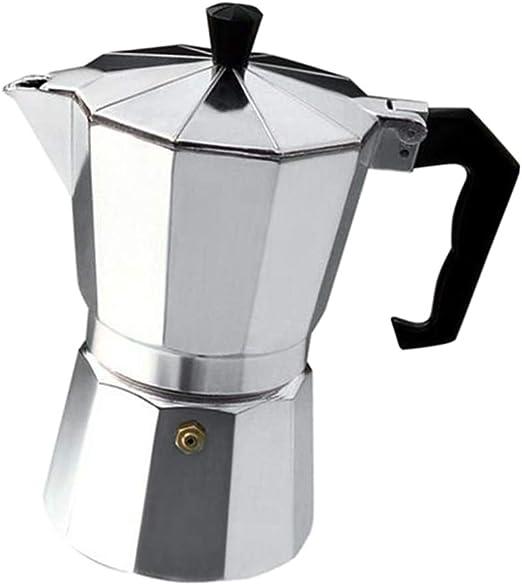 Cafeteras de Cocina de Inducción de Aluminio, con 3 Tazas / 6 ...