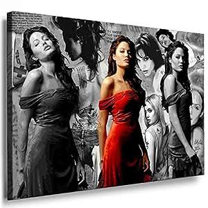 Art On Canvas - Frame 100x70x2cm Movie 7011