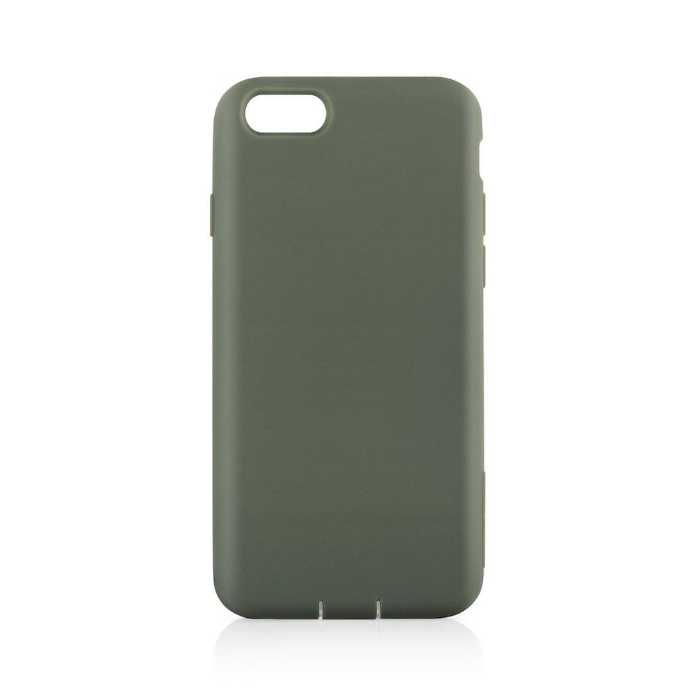 Simplism iPhone 7/6s/6 [Cushion] 衝撃吸収シリコンケース カーキ TR-CSIP164-KK