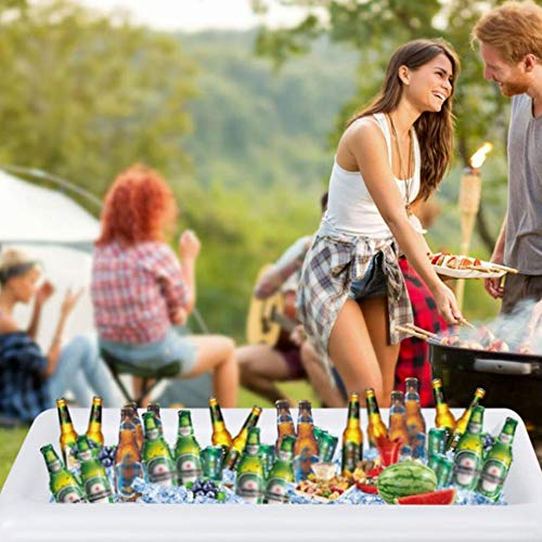 Shineme Table Cooler Coolers For Drinks Inflatable Buffet