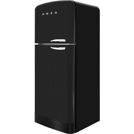 Smeg FAB50LBL nevera y congelador Independiente Negro 440 L A++ ...