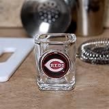 Cincinnati Reds Square Shot Glass