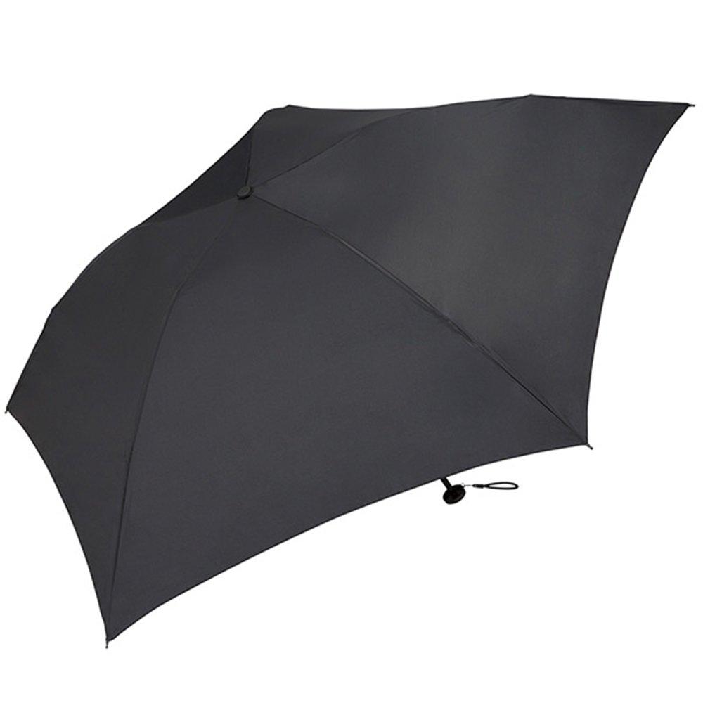World Party (Wpc.) Umbrella folding umbrella black black 55cm Women Men Unisex ultra-lightweight 76g MSK55-900