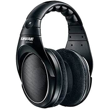 Shure SRH1440 Professional Open Back Headphones (Black)