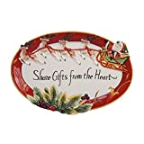 Fitz & Floyd Regal Holiday Collection Cookie Platter