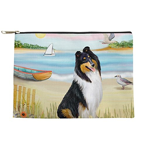 CafePress - ROWBOAT-Collie-Tri3 - Makeup (Lovers Rowboat)