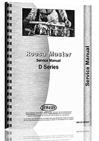 amazon com roosa master d injection pump service manual rh amazon com Roosa Master DB Service Manual Roosa Master DB Service Manual