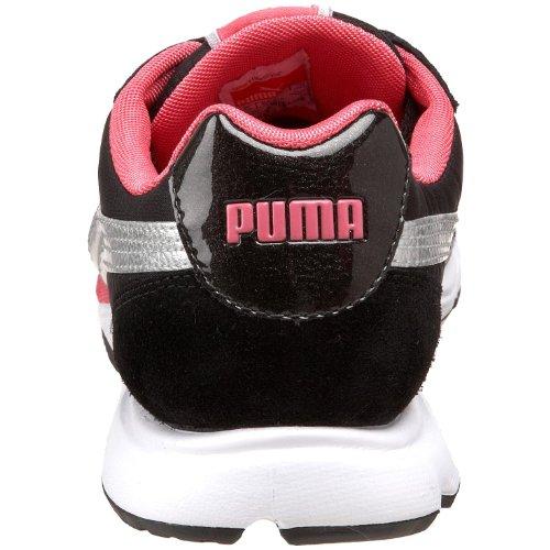 Puma Donna Venus Scarpa Da Corsa Nero / Puma Argento / Rosa Fluorescente
