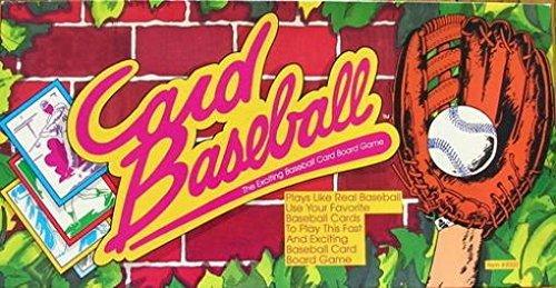 Card Baseball - The Exciting Baseball Card Board Game