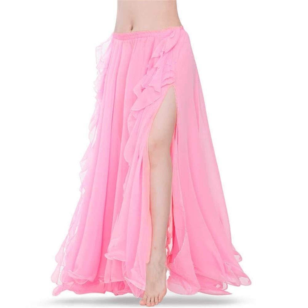 Falda de ballet Royal Blue Belly Danza Faldas Doble Oriental ...