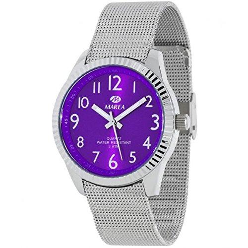 Reloj Marea Mujer B35254/9 Malla Metálica Morado