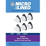 Shark Dust Cup Filter Pack | Filter # XSB726N | For use with SV780, SV75, SV75Z, SV66, & other Shark Hand Vacs by DVC Products