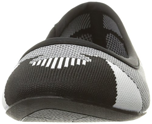 Pictures of Skechers Women's Cleo Wham Flat, Black/White, 8.5 M US 6