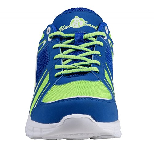 HSM Men's Running Shoes Blue/Green vrTntNgfn