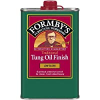 Formbys 30064 Low Gloss Tung Oil Finish, 16-Ounce by Formby