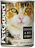 Millbrook Distribution Services Inc. Pet Guard (C) Cat, Chicken and Beef, 14-Ounce (Pack of 6)