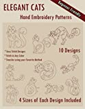 img - for Elegant Cats Hand Embroidery Pattern book / textbook / text book