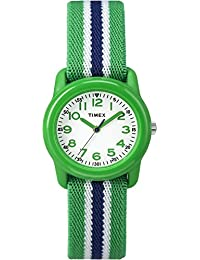 Boys TW7C06000 Time Machines Analog Resin Green/Blue...